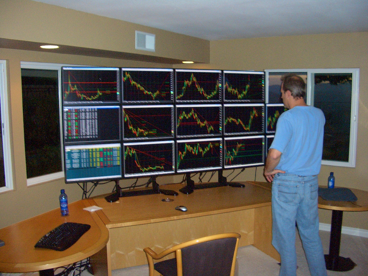 Trading Desk Computer Monitors